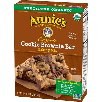 Baking Mixes: Annie's Cookie Brownie Bar Mix