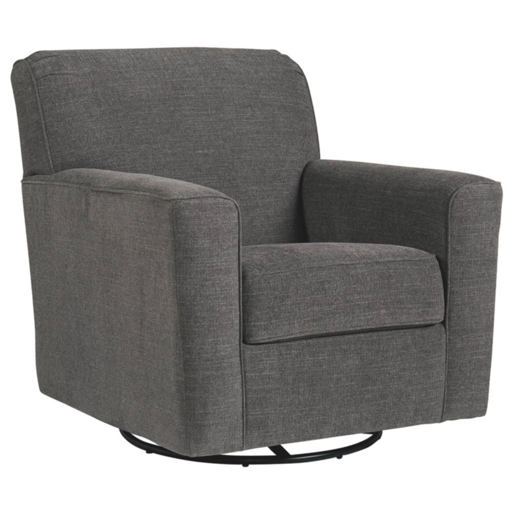 Image of Alcona Accent Chair Linen - Signature Design by Ashley, Gray