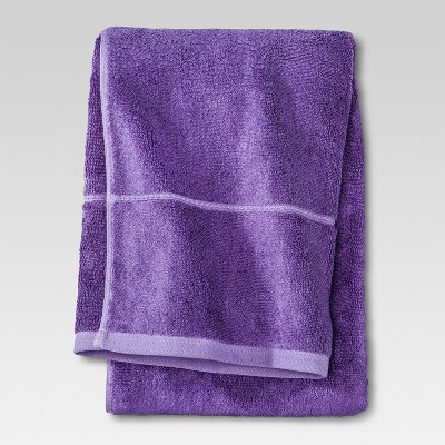 Botanic Solid Bath Sheet Grape Fizz - Threshold™