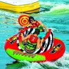 WOW Watersports 2-Person Cyclone Spinner Towable Rotating Boating Tube with Multiple Tow Points and Riding Positions - image 3 of 4