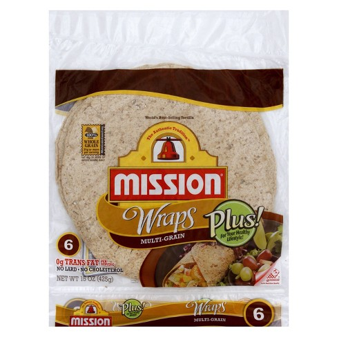 Mission Multigrain Flour Wrap 6 ct - image 1 of 1