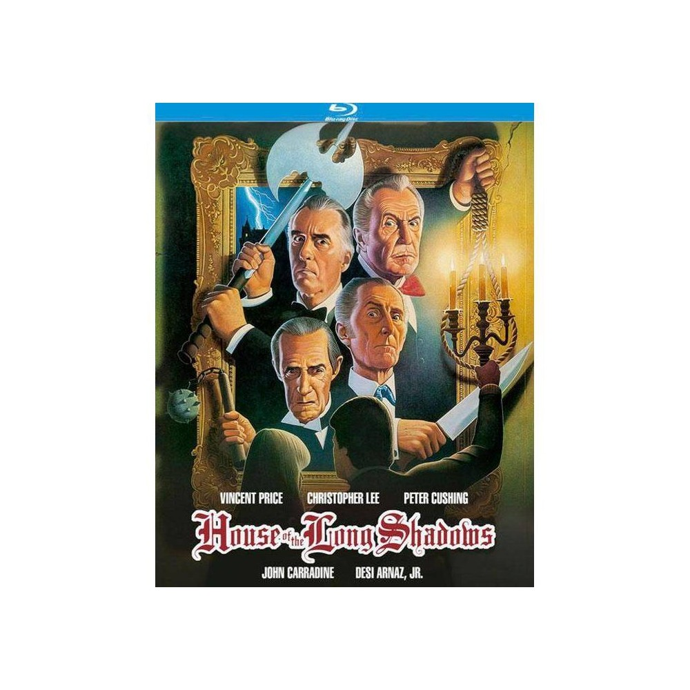 House Of The Long Shadows Blu Ray