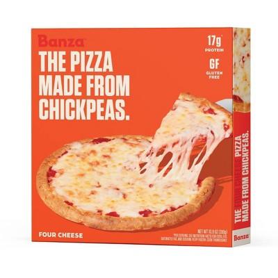 Banza Chickpea Crust Cheese Frozen Pizza - 10.9oz