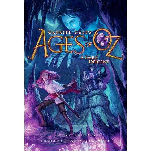 A Dark Descent - (Ages of Oz) by  Lisa Fiedler (Hardcover) - image 1 of 1