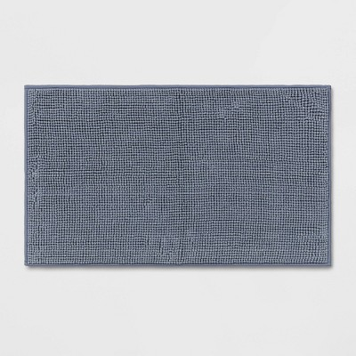 "20""x34"" Solid Bath Rug Blue - Made By Design™"