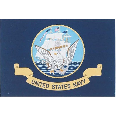 Armed Forces Flag - US Navy - 4' x 6'