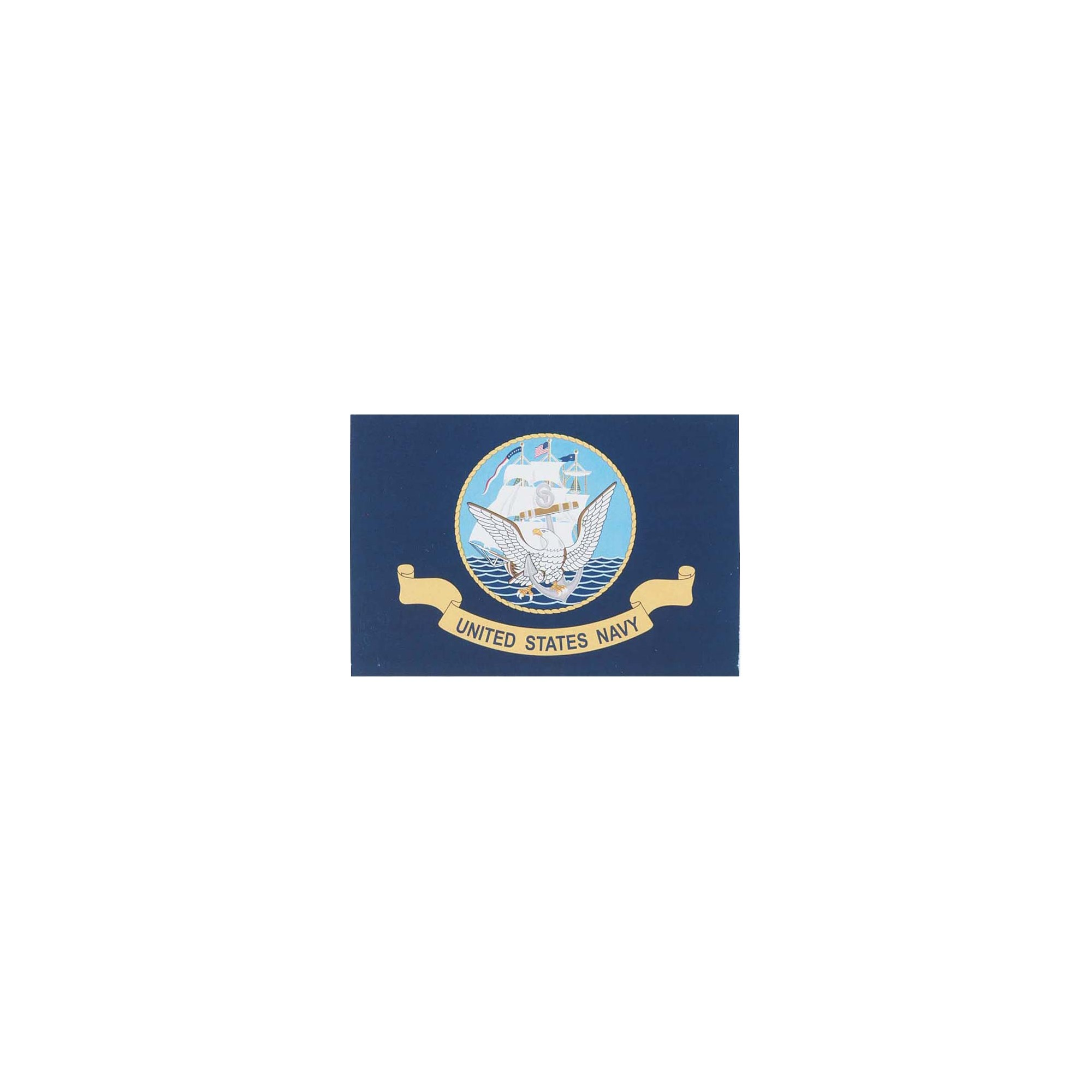 Halloween Armed Forces Flag - US Navy - 4' x 6'