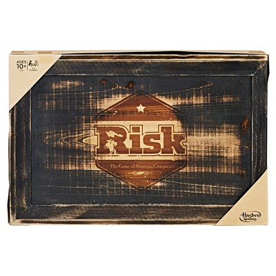 Risk Game: Rustic Series Edition
