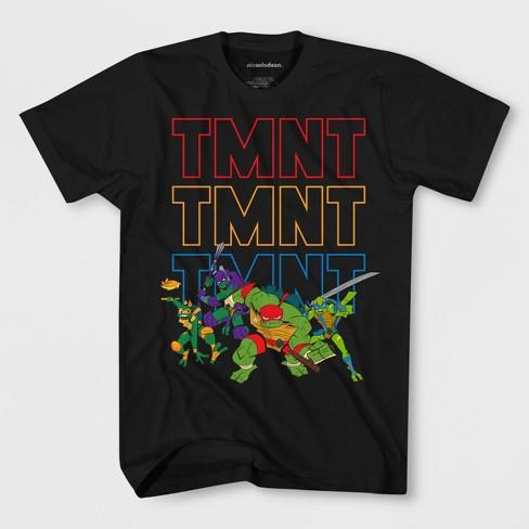 af6ffb591 Boys' Teenage Mutant Ninja Turtles Short Sleeve T-Shirt - Black : Target