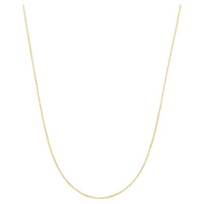 """Adjustable Box Chain In Sterling Silver - 16"""" - 22"""""""