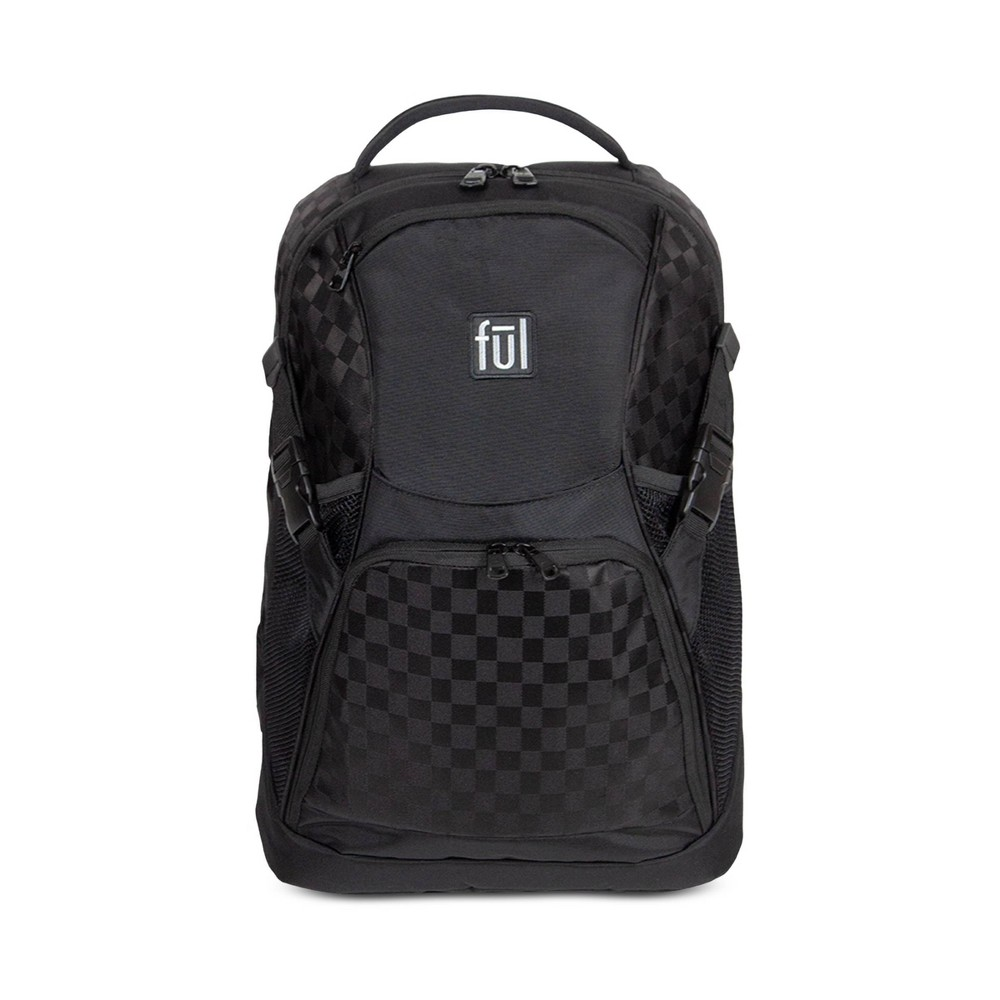 "Image of ""FUL 18"""" Marlon Backpack - Tonal Black"""