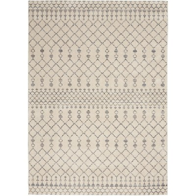 Nourison Royal Moroccan RYM03 Beige/Grey Indoor Area Rug