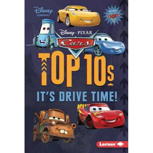 Cars Top 10s - (My Top 10 Disney) by  Mary Lindeen (Hardcover) - image 1 of 1