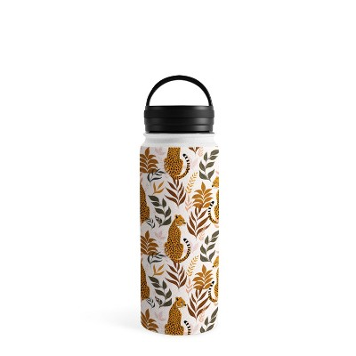 Avenie Wild Cheetah Collection Water Bottle - Society6
