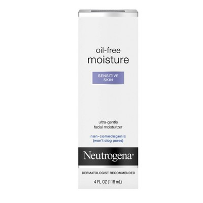 Neutrogena Oil-Free Daily Sensitive Skin Face Moisturizer - 4 fl oz