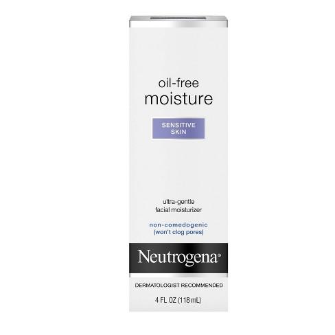 Neutrogena Oil-Free Daily Sensitive Skin Face Moisturizer - 4 fl oz - image 1 of 4