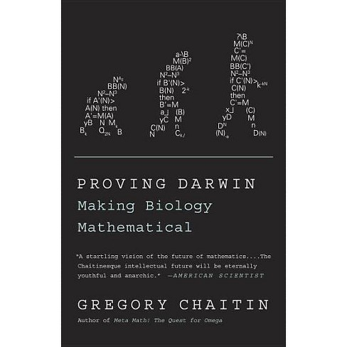 Proving Darwin - by  Gregory Chaitin (Paperback) - image 1 of 1