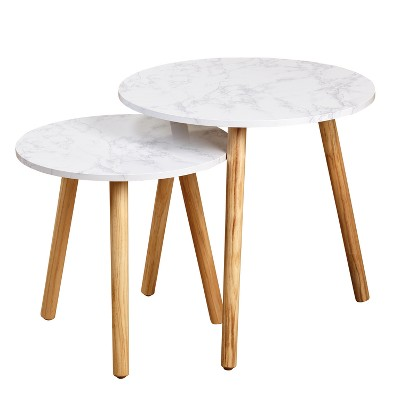 Darcy Nesting Table - Natural - Buylateral