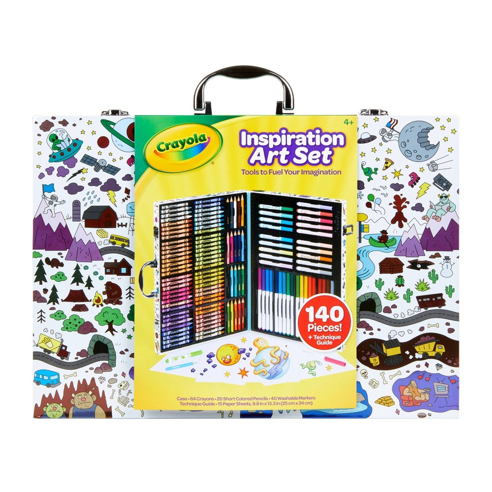 Image of Crayola Inspiration Art Case