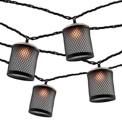 10ct String Lights - Wire Mesh Black - Threshold™
