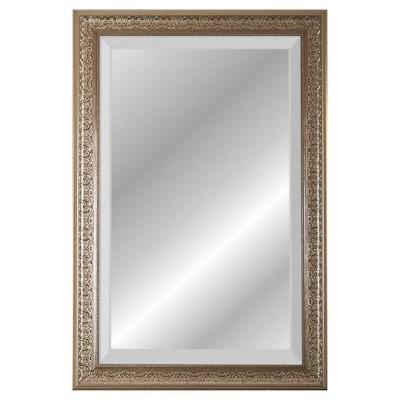 24  x 36  Mark Series Champagne Beveled Glass Wall Mirror - Alpine Art and Mirror