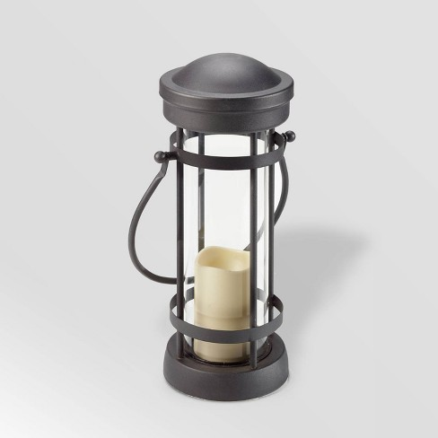 """16"""" Revere LED Candle Outdoor Lantern Brown - Smart Living - image 1 of 4"""