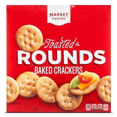 Toasted Crackers 13.7oz - Market Pantry™