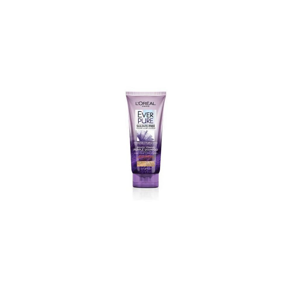 Image of L'Oreal Everpure Brass Toning Purple Shampoo - 6.8 floz