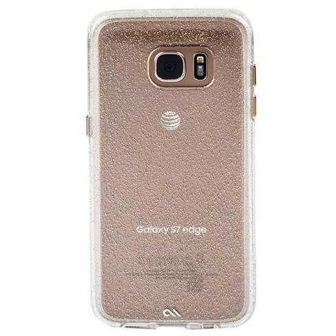 innovative design e90b6 19ba5 Case-Mate Samsung Galaxy S7 Edge Sheer Glam Naked Tough Cases