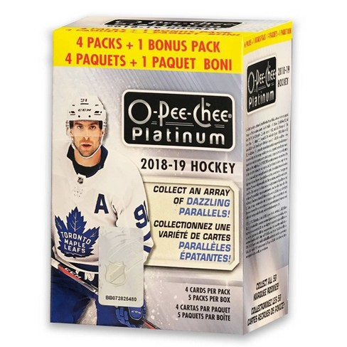 2018-19 NHL O-Pee-Chee Platinum Hockey Trading Card Blaster Box - image 1 of 2