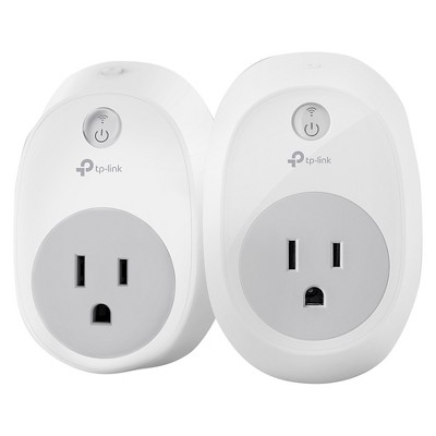 TP-Link 2-Pack Wi-Fi Smart Plug (HS100 KIT)