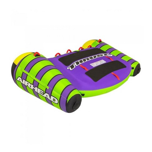 Airhead Thrust Inflatable Boat Towable Water Sport Deck Inner Tube, 3 Riders - image 1 of 4