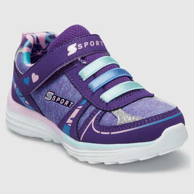 24ebffa5002e Toddler Girls  S Sport By Skechers Tyro 2.0 Performance Athletic Shoes -  Violet 5