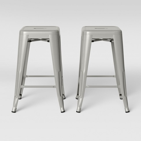 "Set of 2 24"" Carlisle Metal Counter Stool - Threshold™ - image 1 of 4"