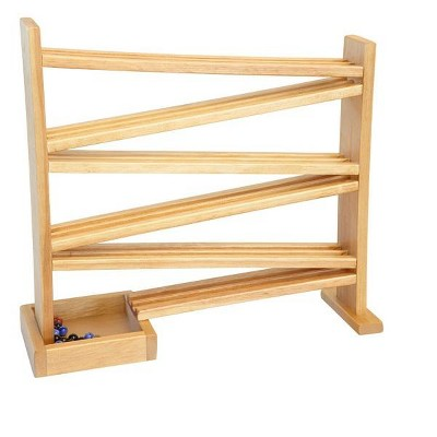 Remley Kids Wooden Marble Racetrack