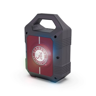 NCAA Alabama Crimson Tide Bluetooth Speaker with LED Lights