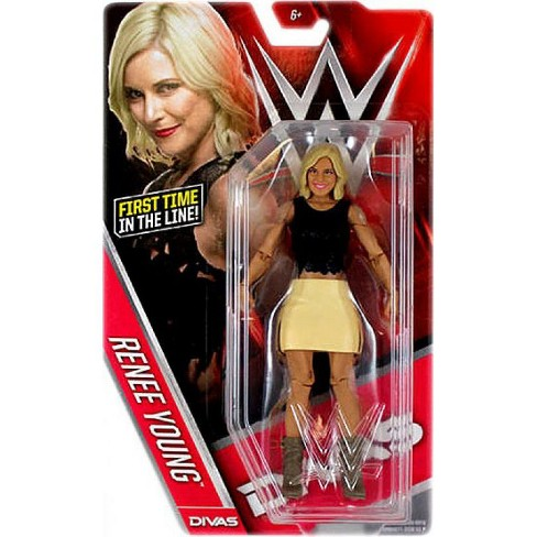 WWE Wrestling Series 60 Renee Young Action Figure - image 1 of 4