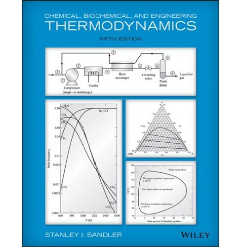 Chemical, Biochemical, and Engineering Thermodynamics -  by Stanley I. Sandler (Paperback) - image 1 of 1