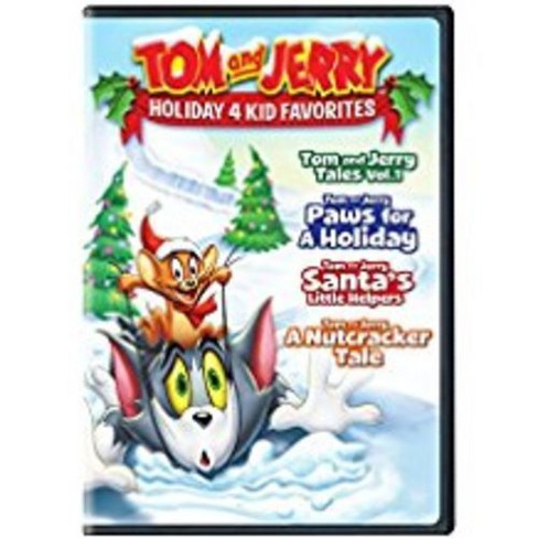 Tom and Jerry Holiday 4 Kid Favorites (DVD) - image 1 of 1