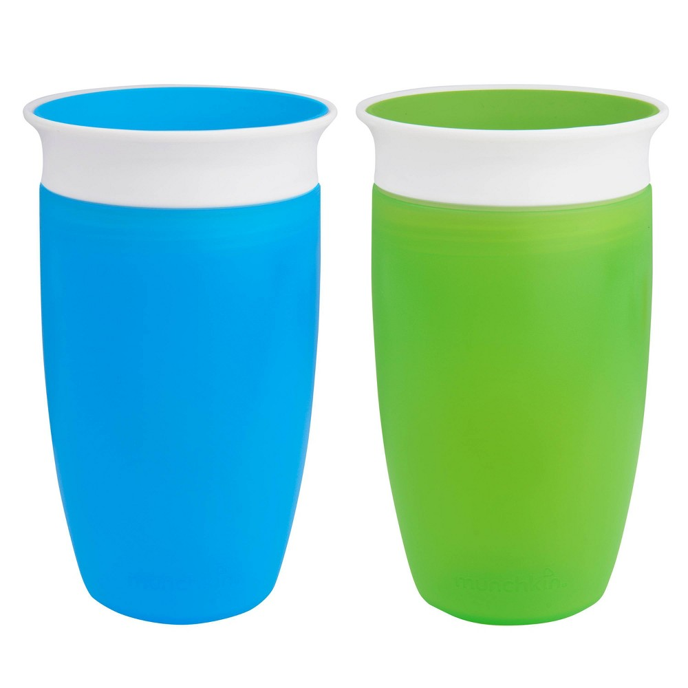 Image of Munchkin Miracle 360 10oz Sippy Cup - 2 Pack