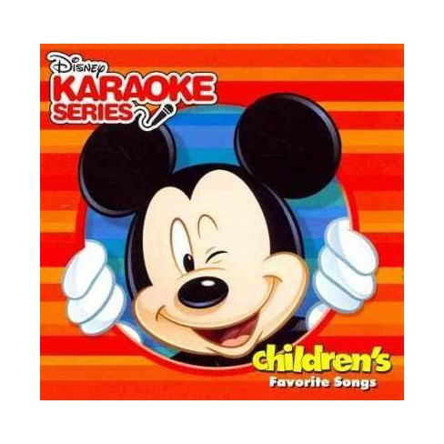 Various - Disney Karaoke Series: Children's Favorite Songs (CD) - image 1 of 1