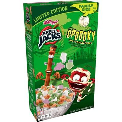 Kellogg's Apple Jacks Spooky Cereal - 18.7oz