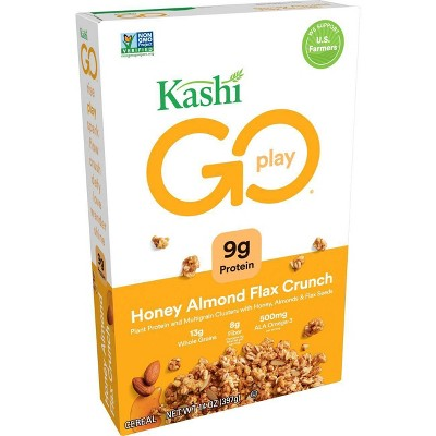 Kashi Golean Crunch! Honey Almond Flax Breakfast Cereal - 14oz