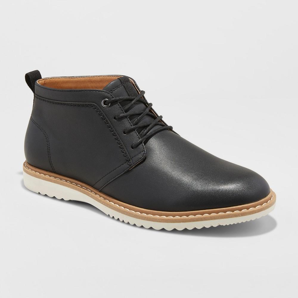 Men's Malik Casual Chukka Boots - Goodfellow & Co Black 9