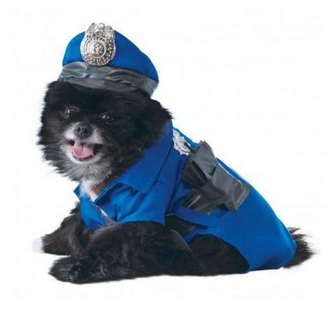 Rubies Police Pet Dog Costume - image 1 of 1