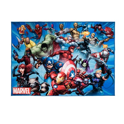 "Marvel Super Heroes Rug (4'6""X6'6"") by Marvel"