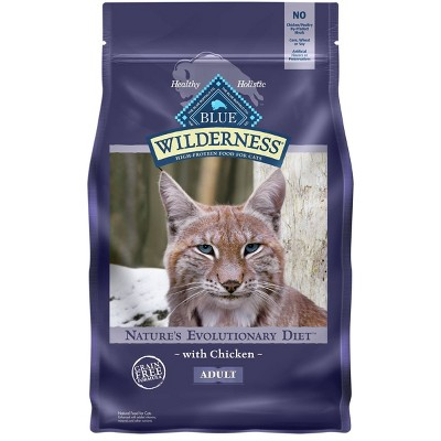 Blue Buffalo Wilderness Grain Free with Chicken Adult Premium Dry Cat Food