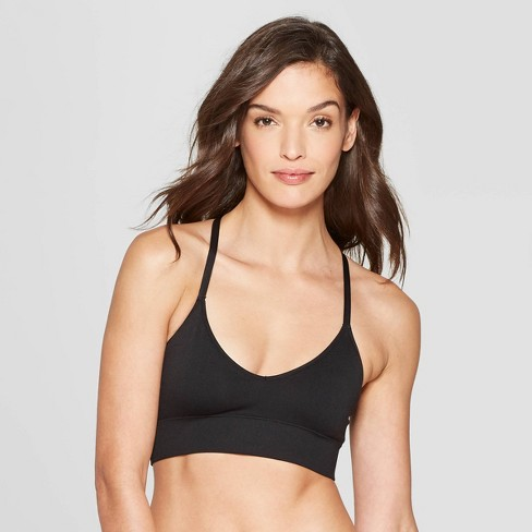 22793ab6b7 Women s Longline Racerback Seamless Bralette - Auden™   Target