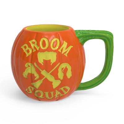 Zak Designs 11oz Disney Hocus Pocus Pumpkin Halloween Ceramic Sculpted Mug