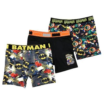 BOY/'S BATMAN BOXER SHORT TRUNK UNDERWEAR SIZE 4 TO 10 YEARS